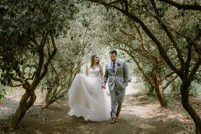 Secret Garden Wedding at Campovida Winery